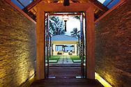 Entrance to Inasia Villa, Lipa Noi, Koh Samui, Thailand