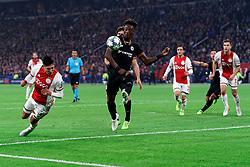 23-10-2019 NED: Champions League AFC Ajax - Chelsea, Amsterdam<br /> Ajax lost 1-0 / Ajax defender Edson Álvarez #4, Chelsea midfielder Mason Mount #19, Chelsea forward Tammy Abraham #9