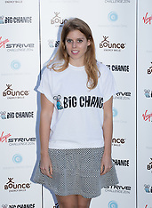 AUG 07 2014 Virgin STRIVE Challenge - photocall