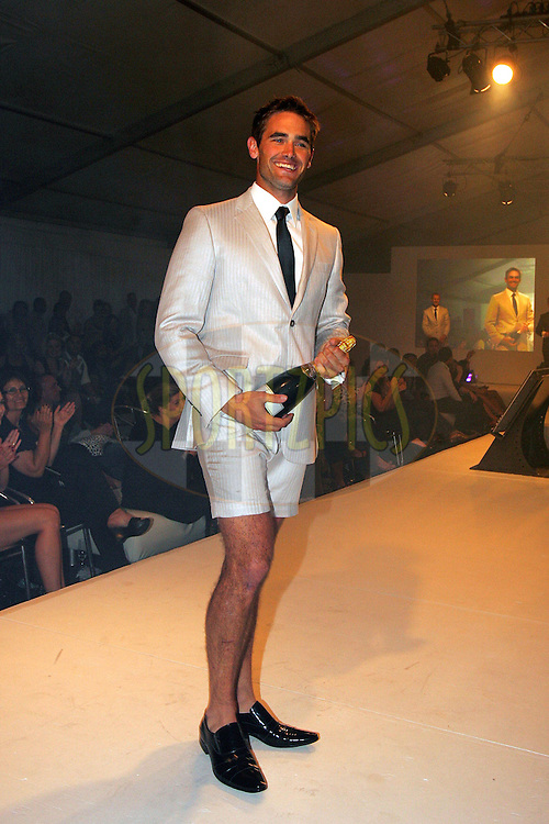 CAPE TOWN, SOUTH AFRICA - 30 October Brendan Currin Winner of the Men's Health Look 2008 held at The V&A Waterfront in Cape Town, South Africa..Photo by: Ron Gaunt