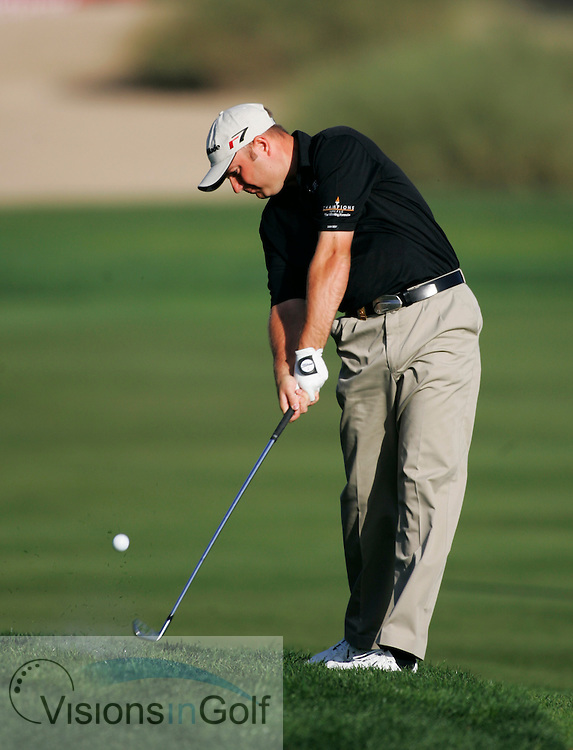 Graeme Storm<br /> Dubai Desert Classic, Emirates GC, UAE. 3rd Febraury 2006, day 2<br /> Mandatory Photo Credit: Mark Newcombe / visionsingolf.com