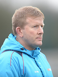 ADY PENNOCK MANAGER BARROW AFC, Brackley Town FC v Barrow AFC, Buildbase FA Trophy Saturday 13th January 2018, SCORE 0-0, Photo:Mike Capps/Kappa Sport Pictures