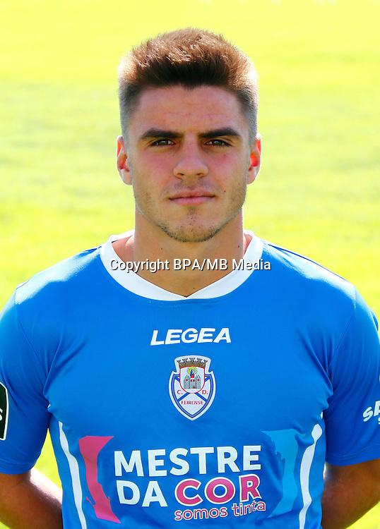 Portugal - Primera Liga NOS 2016-2017 / <br /> ( CD Feirense ) - <br /> Ruben Alexandre Gomes Oliveira &quot; Ruben Oliveira &quot;