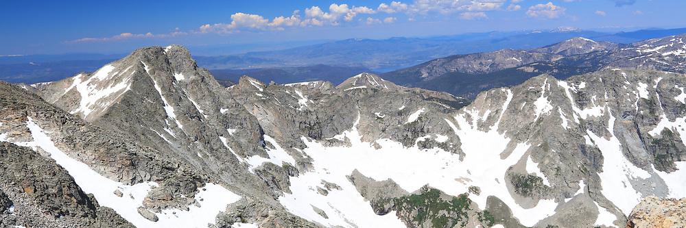 Indian Peaks Wilderness Panorama of Paiute Peak