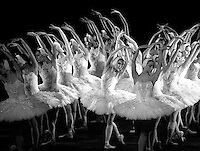 "English National Ballet in Derek Deane's ""Swan Lake"" <br />