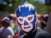 Lucha Libre at the Arizona Diamondbacks