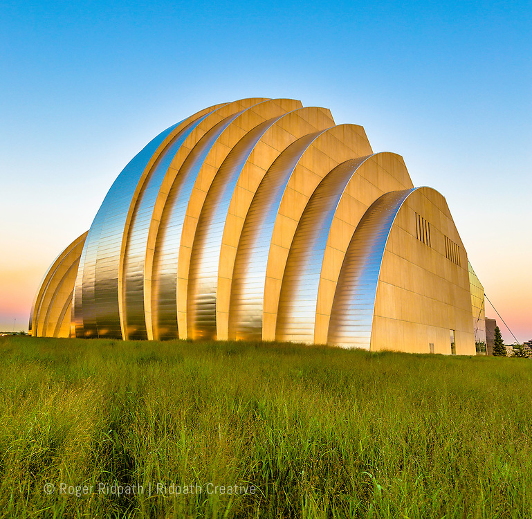 kauffman center for performing arts summer sunset