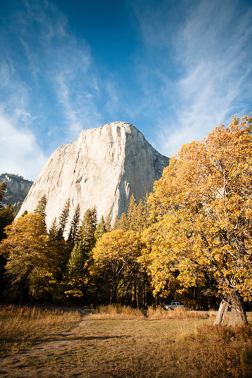 Scenic image of El Capitan in Yosemite National Park.