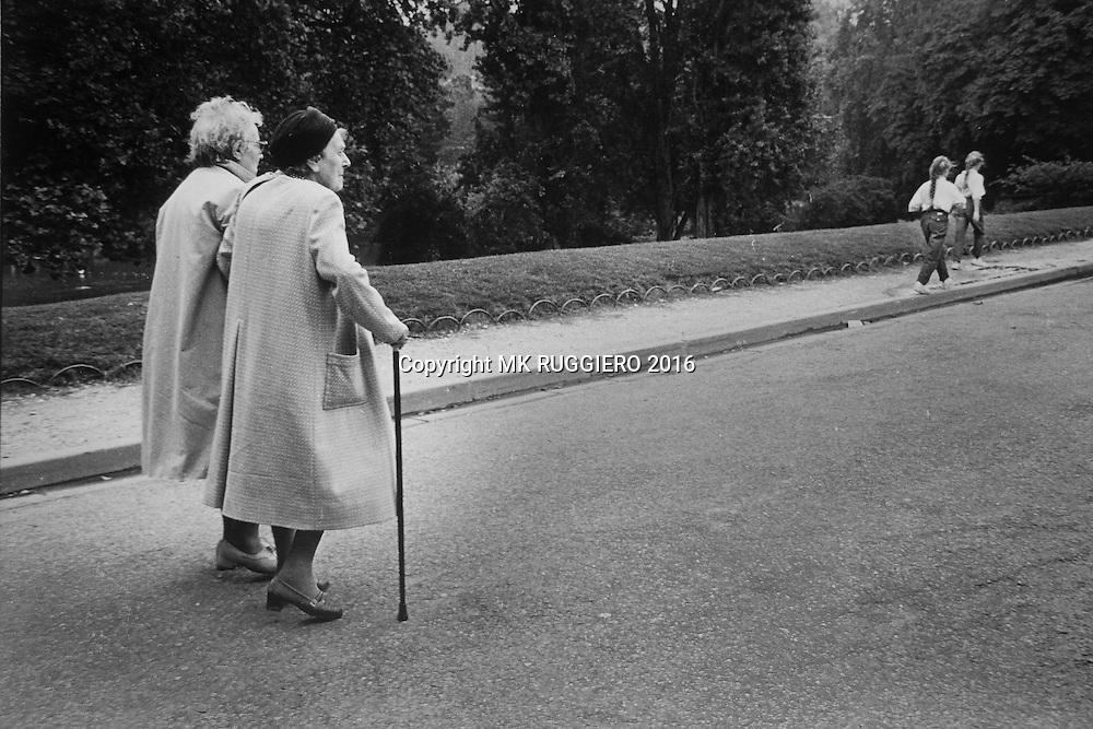 Parc des Buttes Chaumont - Paris -1983