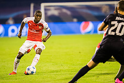 Joel Campbell #28 of Arsenal F.C. during football match between GNK Dinamo Zagreb, CRO and Arsenal FC, ENG in Group F of Group Stage of UEFA Champions League 2015/16, on September 16, 2015 in Stadium Maksimir, Zagreb, Croatia. Photo by Ziga Zupan / Sportida