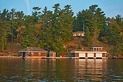 Coattage and boathouse on Lake of the Woods<br />