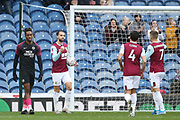 Jay Rodriguez of Burnley scores and celebrates his goal during the The FA Cup match between Burnley and Peterborough United at Turf Moor, Burnley, England on 4 January 2020.