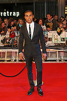 LONDON - APRIL 19: Lucien Laviscount attends the European Film Premiere of 'Avengers Assemble' at the Westfield Shopping Centre, White City, London, UK. April 19, 2012. (Photo by Richard Goldschmidt)
