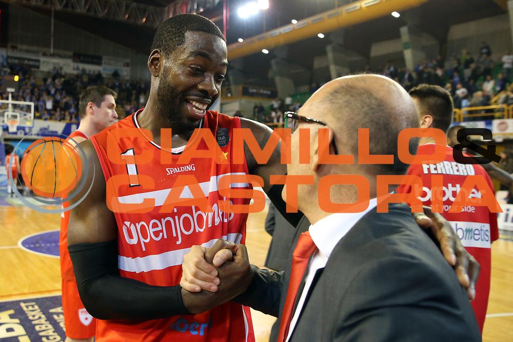 Anosike O.D., Caja<br /> Germani Basket Brescia vs Openjobmetis Varese<br /> Lega Basket Serie A 2016/2017<br /> Citt&agrave; 19/03/2017<br /> Foto Ciamillo-Castoria/A.Gilardi
