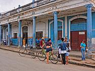 Street in Rodas, Cienfuegos, Cuba.