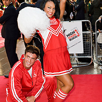 London Oct 7th  Vanessa Hudgens, Zac Efron, Ashley Tisdale and Corbin Bleu attend the UK premiere of 'High School Musical 3' at the Empire cinema, Leicester Square on October 7, 2008 in London, England.