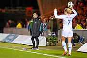 Scotland head coach, Shelley Kerr during the Women's International Friendly match between Scotland Women and USA at the Simple Digital Arena, Paisley, Scotland on 13 November 2018.