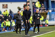 Sheffield Wednesday manager Garry Monk during the EFL Sky Bet Championship match between Sheffield Wednesday and Bristol City at Hillsborough, Sheffield, England on 22 December 2019.
