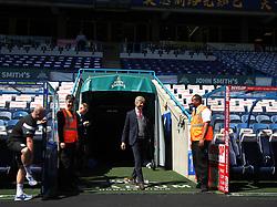Arsenal manager Arsene Wenger arrives before the match - Mandatory by-line: Jack Phillips/JMP - 13/05/2018 - FOOTBALL - The John Smith's Stadium - Huddersfield, England - Huddersfield Town v Arsenal - English Premier League