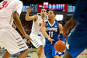 DALLAS, TX - FEBRUARY 01: Michael Dixon Jr. #11 of the Memphis Tigers drives to the basket against the SMU Mustangs on February 1, 2014 at Moody Coliseum in Dallas, Texas.  (Photo by Cooper Neill/Getty Images) *** Local Caption *** Michael Dixon Jr.