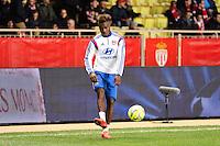 Gnaly CORNET - 01.02.2015 - Monaco / Lyon - 23eme journee de Ligue 1 -<br />Photo : Eric Gaillard / Icon Sport