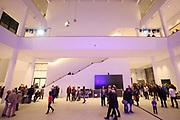 Mannheim. 15.12.17 |<br /> Kunsthalle. Neubau. Nachtaufnahmen von Aussen mit der Mesh-Fassade. Eröffnung<br /> <br /> Bild-ID 049 | Markus Proßwitz 15DEC17 / masterpress
