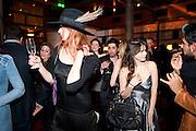 OLIVIA INGE; MARTHA FREUD, MYLA 10th ANNIVERSARY PARTY, Almada, Berkeley st. London. 17 November 2010. -DO NOT ARCHIVE-© Copyright Photograph by Dafydd Jones. 248 Clapham Rd. London SW9 0PZ. Tel 0207 820 0771. www.dafjones.com.