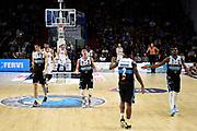 Saunders Wesley Mathews Jordan Tiby Matt Ruzzier Michele<br /> Vanoli Cremona - Pallacanestro Trieste<br /> Lega Basket Serie A 2019/2020<br /> Cremona, 24/11/2019<br /> Foto A.Giberti / Ciamillo - Castoria