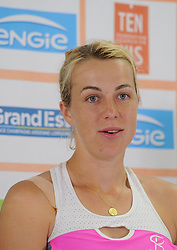 May 26, 2018 - France - Internationaux de tennis de Strasbourg - Anastasia Pavlyuchenkova Russie (Credit Image: © Panoramic via ZUMA Press)
