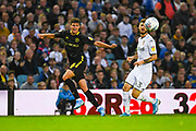 Brentford midfielder Christian Norgaard (6) passes the ball during the EFL Sky Bet Championship match between Leeds United and Brentford at Elland Road, Leeds, England on 21 August 2019.