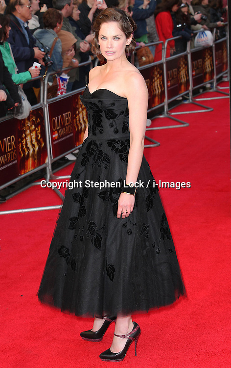 Ruth Wilson arriving at the Olivier Awards in London, Sunday 15th April 2012.  Photo by: Stephen Lock / i-Images