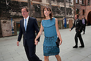 SAMANTHA CAMERON; DAVID CAMERON, Summer party hosted by Rupert Murdoch. Oxo Tower, London. 17 June 2009