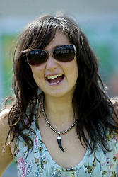 KT Tunstall, at T in the Park 2005, 10th July 2005..©Michael Schofield..