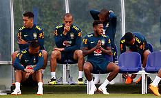 Brazil Training and Press Conference - Enfield Training Ground - 05 June 2018