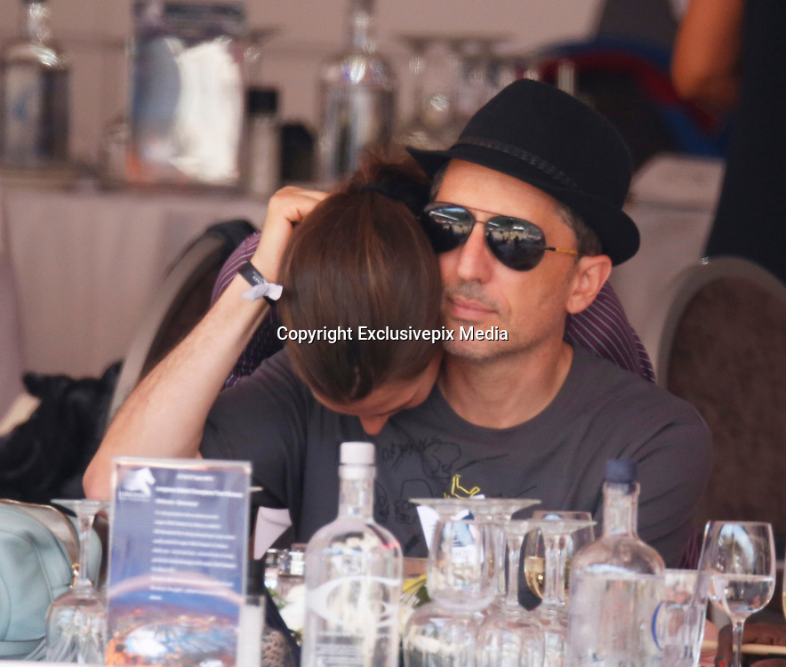 MONACO , 27 JUIN 2015 THE INTERNATIONAL JUMPING WITH MONACO CHARLOTTE CASIRAGHI and GAD ELMALEH<br /> &copy;Exclusivepix Media