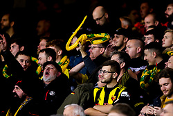 Watford fans hold up inflatable snakes for Everton manager Marco Silva - Mandatory by-line: Robbie Stephenson/JMP - 10/12/2018 - FOOTBALL - Goodison Park - Liverpool, England - Everton v Watford - Premier League