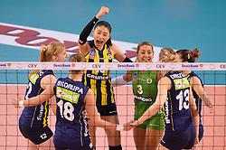 09-04-2016 ITA: CEV DenizBank Champions League Fenerbahce Grundig Istanbul - VakıfBank Istanbul, Montichiari<br /> Vakifbank wint met 3-0 en plaatst zich voor de finale / Vruegde bij Fenerbahce<br /> <br /> ***NETHERLANDS ONLY***