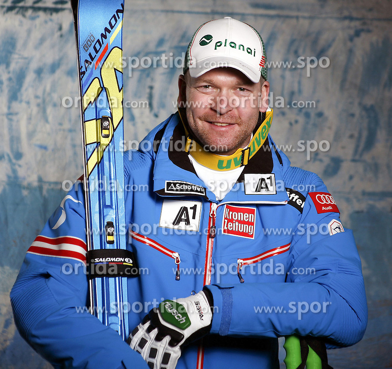 20.10.2012, Messehalle, Innsbruck, AUT, OeSV, Ski Alpin, Fototermin, im Bild Klaus Kroell (OeSV, Skirennlaeufer) // during the official Portrait and Teamshooting of the Austrian Ski Federation (OeSV) at the Messehalle, Innsbruck, Austria on 2012/10/20. EXPA Pictures © 2012, PhotoCredit: EXPA/ OeSV/ Erich Spiess