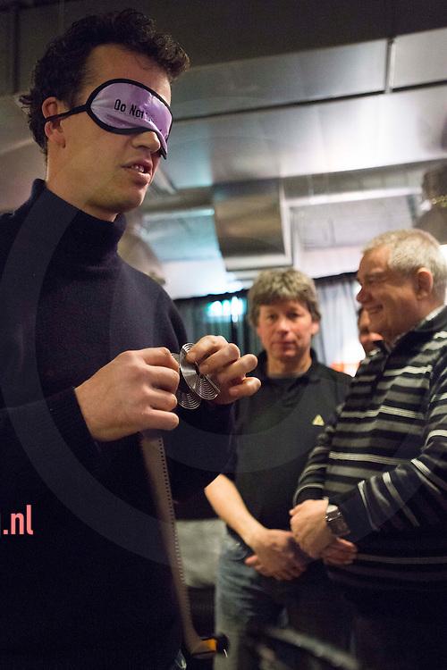 Nederland, Amsterdam zaterdag 16mrt2013 Fotografenfeest in cafe 'Lighthouse' Amsterdam ijburg Kryn Taconiskade.