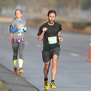 John Mignosa participates in Race 13.1 Sunday February 22, 2015 in Wilmington, N.C. (Jason A. Frizzelle)