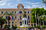 Cannes city hall (Hotel-de-ville), French Riviera, France