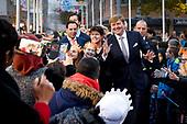 Koning bezoekt 50-jarig Lelystad