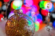 Holidays in winter are celebrated with decorative lights, presents, and ornaments. Holiday Spirit