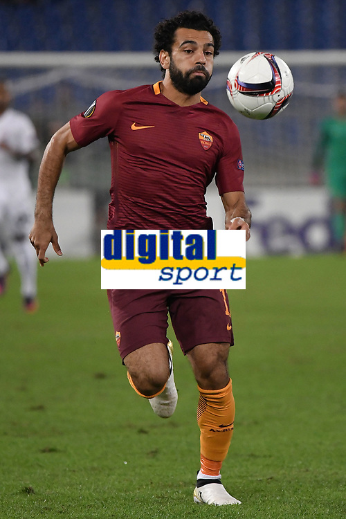 Mohamed Salah Roma <br /> Roma 20-10-2016  Stadio Olimpico <br /> Football Calcio Europa League AS Roma - Austria Wien <br /> Foto Andrea Staccioli / Insidefoto