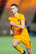 Ryan Hardie (#9) of Livingston FC during the Ladbrokes Scottish Premiership match between Livingston FC and Heart of Midlothian FC at the Tony Macaroni Arena, Livingston, Scotland on 14 December 2018.