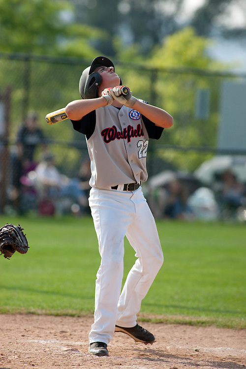 Westfield v Arlington, Babe Ruth Regional Tournament. (Photo by Robert Falcetti)