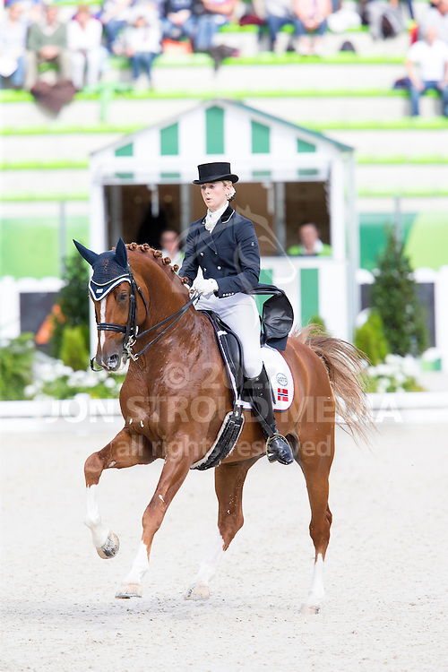 Trude Hestengen, (NOR), Tobajo Pik Disney - Grand Prix Team Competition Dressage - Alltech FEI World Equestrian Games&trade; 2014 - Normandy, France.<br /> &copy; Hippo Foto Team - Leanjo de Koster<br /> 25/06/14