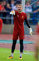 ROTTACH-EGERN, GERMANY - Friday, July 28, 2017: Liverpool's goalkeeper Simon Mignolet during a training session at FC Rottach-Egern on day three of the preseason training camp in Germany. (Pic by David Rawcliffe/Propaganda)