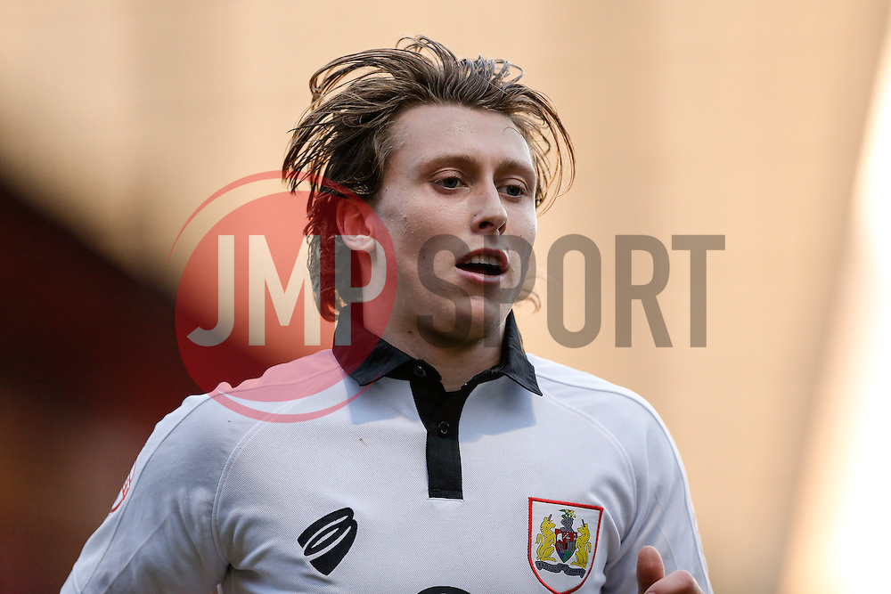 Luke Freeman of Bristol City looks on - Photo mandatory by-line: Rogan Thomson/JMP - 07966 386802 - 20/12/2014 - SPORT - FOOTBALL - Crewe, England - Alexandra Stadium - Crewe Alexandra v Bristol City - Sky Bet League 1.