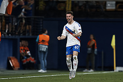 September 20, 2018 - Vila-Real, Castellon, Spain - Glenn Middleton of Rangers celebrates a goal during the UEFA Europa League group G match between Villarreal CF and Rangers at Estadio de la Ceramica on September 20, 2018 in Vila-real, Spain  (Credit Image: © David Aliaga/NurPhoto/ZUMA Press)